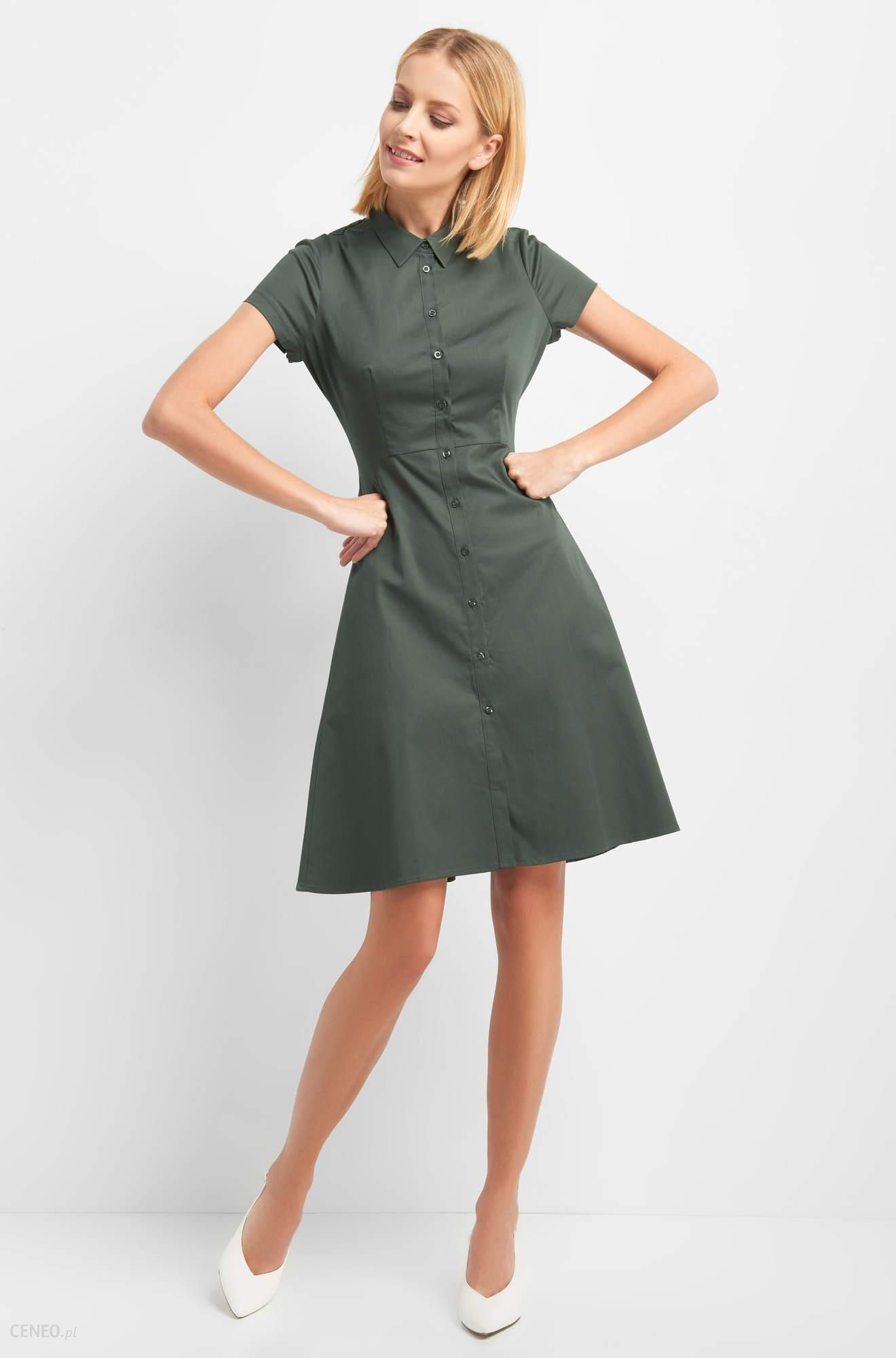 94b794255401 ORSAY Rozkloszowana sukienka - Ceny i opinie - Ceneo.pl