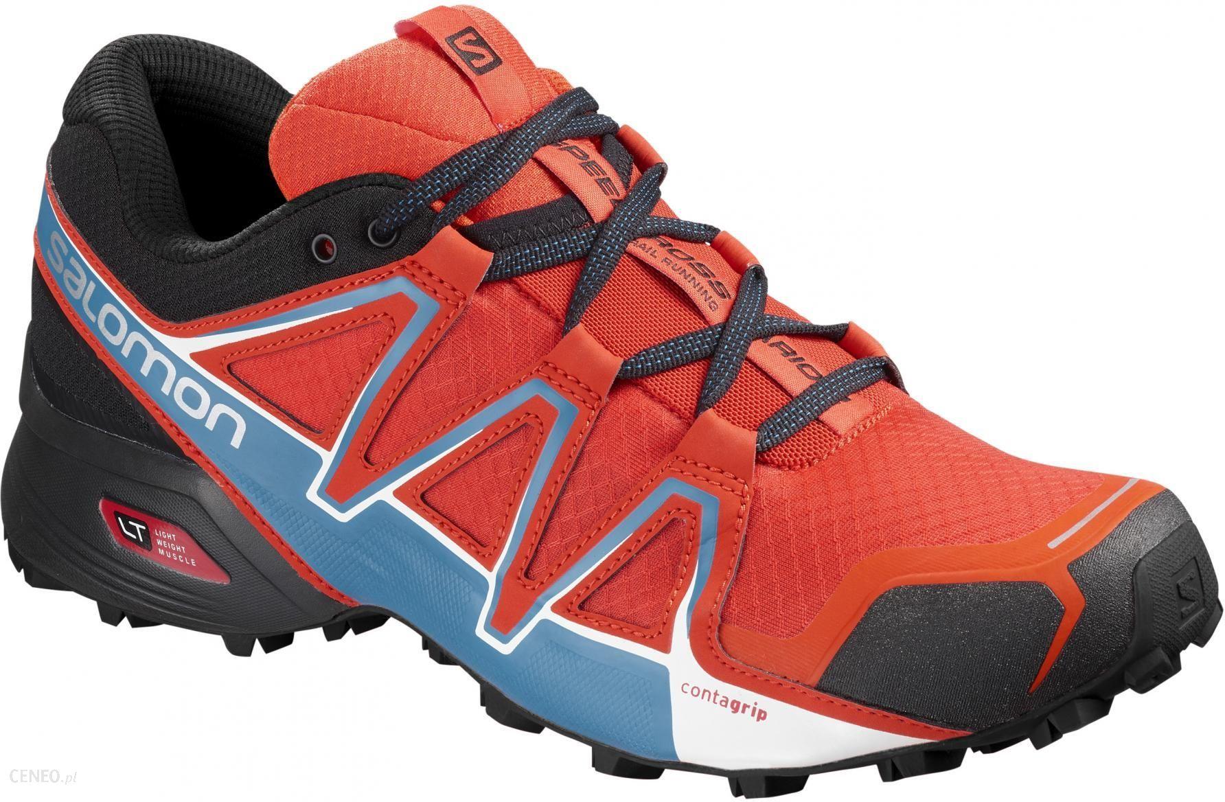 31beea12 Salomon męskie buty Speedcross Vario 2 Pomarańczowy/Czarny/Niebieski 45.3 -  zdjęcie 1
