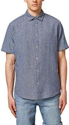 bfc504945ce78e Amazon Esprit męska koszula rekreacyjna - krój regularny niebieski (Navy ...
