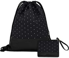 68d347e99a24e Amazon Leapop worek gimnastyczny hipsterski płótno żaglowe torby sportowe