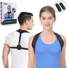 156b1889b189b1 Amazon SKEY korekta postawy pleców uchwyt prosty ramiona podparcie pleców  stabilizator pleców dla kobiet i mężczyzn