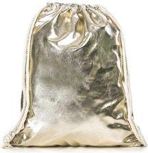 451a492d59cec Amazon Torebka gimnastyczna damska modna błyszcząca metaliczna torba  sportowa worek gimnastyczny hipster worek gimnastyczny srebrny złoty