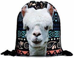 1190588723698 Amazon Torba worek plecak torba sportowa Print Lama