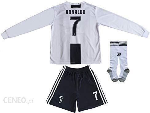 buy popular e5069 0c10a Amazon 2018/2019 Juventus #7 Cristiano Ronaldo dom długie rękawy dziecięce  piłka nożna koszulki spodnie i skarpety rozmiary dziecięce - Ceneo.pl
