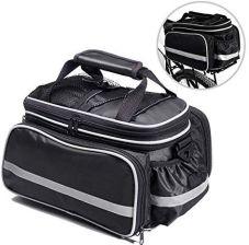 929937a53fbb1 Amazon Torba na rower, torebka na siodełko rowerowe, torba podróżna, torba  na bagażnik