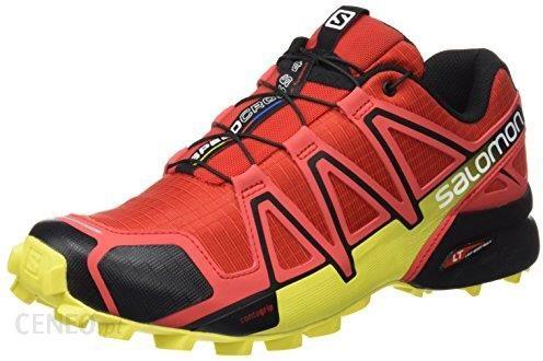 Amazon Salomon Speedcross 4 męskie buty do biegania przełajowego, materiał syntetyczny i tekstylny czerwony 42 23 EU Ceneo.pl