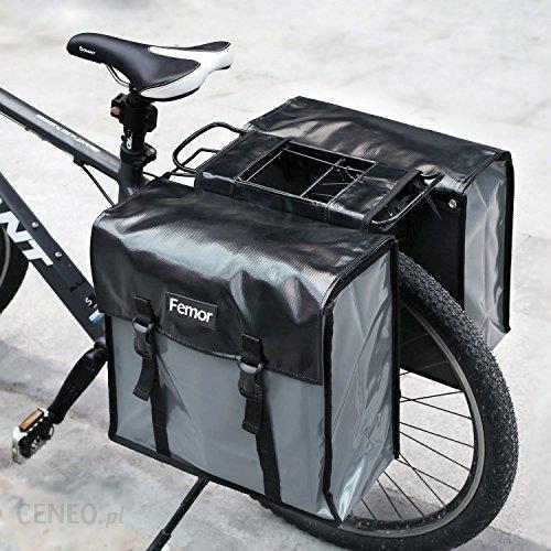 37f55bc2b2d3e Amazon Femor podwójna torba na bagażnik, torba na bagaż, torba na bagażnik  rowerowy,