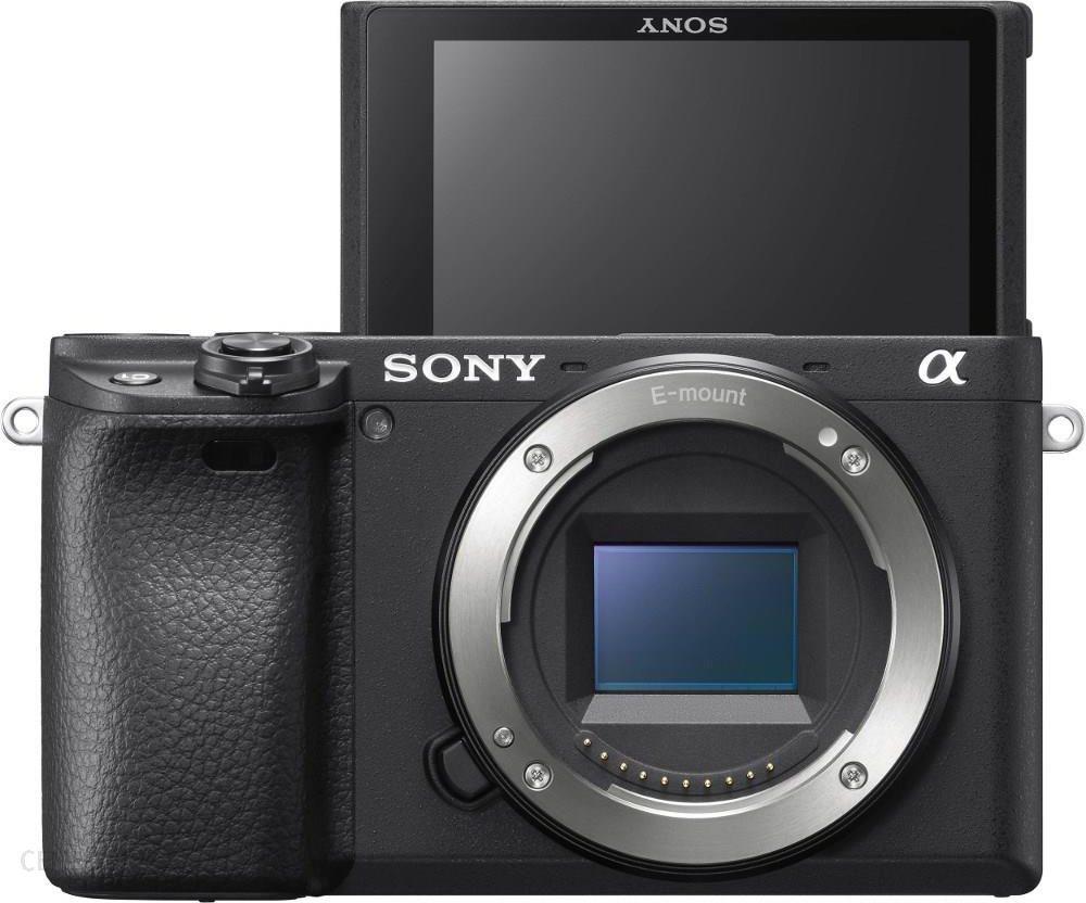 Aparat Cyfrowy Z Wymienna Optyka Sony A6400 Czarny Body Ceny I Opinie Na Ceneo Pl