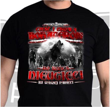 b3b11126b Koszulka patriotyczna męska Nieugięci Żołnierze Wyklęci (cz) M
