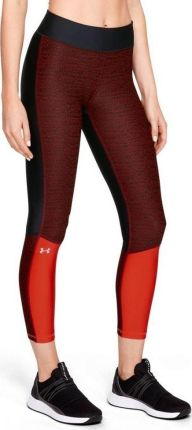 011d04cb2834c0 Under Armour Legginsy damskie Armour Jac Ankle Crop-BLK 1318006-002  czerwone r.