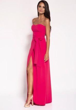 6dbb691b05 LENITIF Sukienka K128 Róż różowy - Ceny i opinie - Ceneo.pl