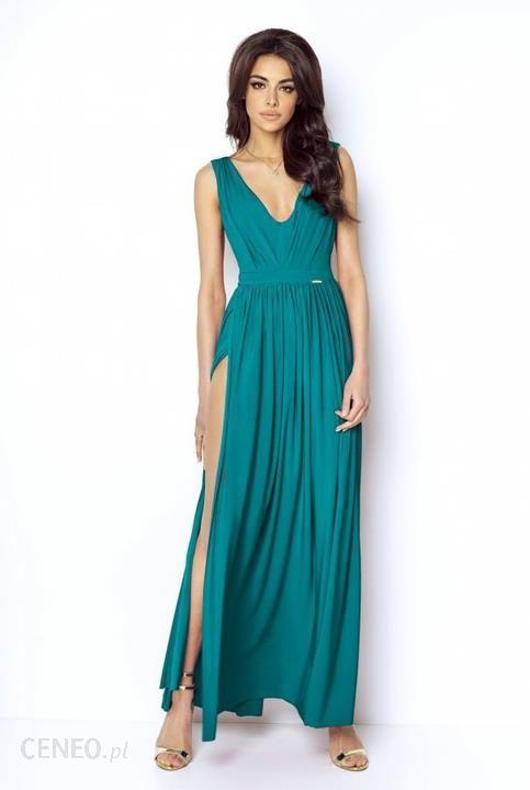 08e9062400 Elegancka sukienka maxi na wyjątkowe okazję M Morski - Ceny i opinie ...