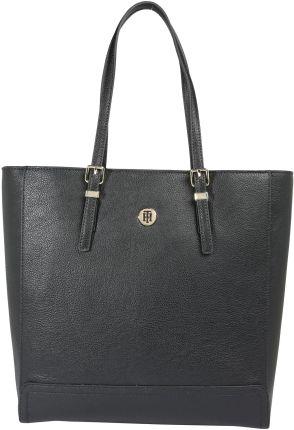 ed868a7347f2d Duża Torba Shopper Bag Czarna A4 Rivera - Ceny i opinie - Ceneo.pl