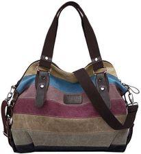 e37b102e5f608 Amazon coofit panie dziewczęta torba torba na ramię plecak do szkoły na  płótnie Multi funkcja ręczna