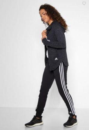 75ef23717 Spodnie Adidas dresy rurki czarne bawełna DP2415