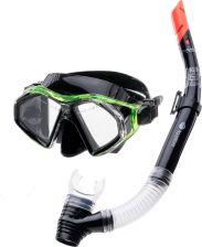 85186dbb2b63 Aquawave Zestaw Do Nurkowania Seal Set Black Lime Transparent