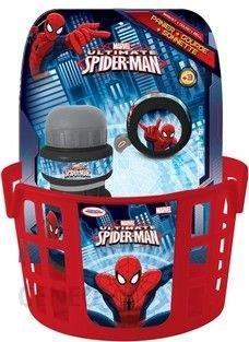 99d68d48630 Spiderman Zestaw Rowerowy Koszyk Dzwonek Bidon - Ceny i opinie ...