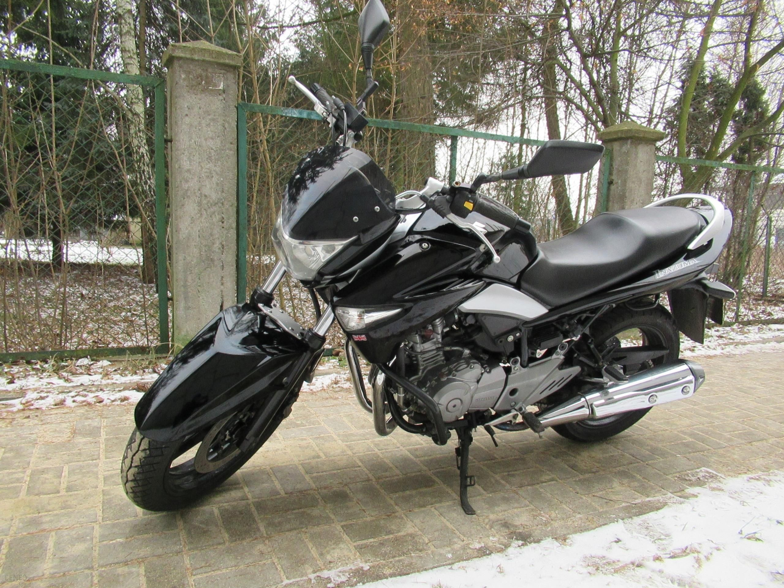Suzuki Gw 250 Inazuma 2014 Rok Opinie I Ceny Na Ceneo Pl
