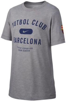 ff9bc2f91 Nike JR FC Barcelona Dry Tee Slub T-shirt 002