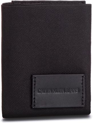 1f6e3e016123d Duży Portfel Męski CALVIN KLEIN JEANS - Sport Essentials Patch Billfold  K50K504546 001 eobuwie