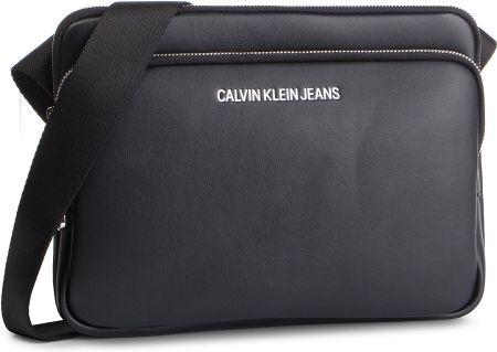 Saszetka CALVIN KLEIN JEANS - Smooth Essentials Flat Croddbody K50K504511  001 eobuwie 4cf544928c