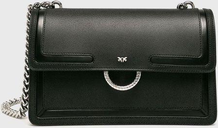 0db93a73d75d4 Podobne produkty do Guess Luxe GINEVRA SMALL FLAP Torba na ramię black.  Pinko - Torebka skórzana answear