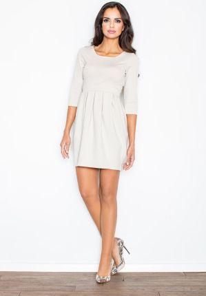 7738d0854e Sukienka FLF414 Zielona oliwka L - Ceny i opinie - Ceneo.pl
