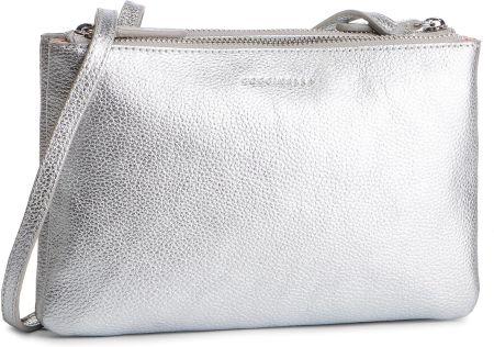 22704539a3758 Torebka COCCINELLE - DV3 Mini Bag E5 DV3 55 F7 07 Silver Y69 eobuwie
