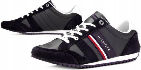 sports shoes 223aa 07d37 TOMMY HILFIGER FM0FM02045 403 BUTY MĘSKIE SKÓRZANE Allegro