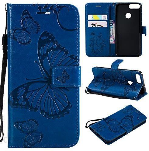 Amazon Etui Na Telefon Komórkowy Huawei P Smart Etui Skóra 3d Slim Etui Magnetyczne Etui Ochronne