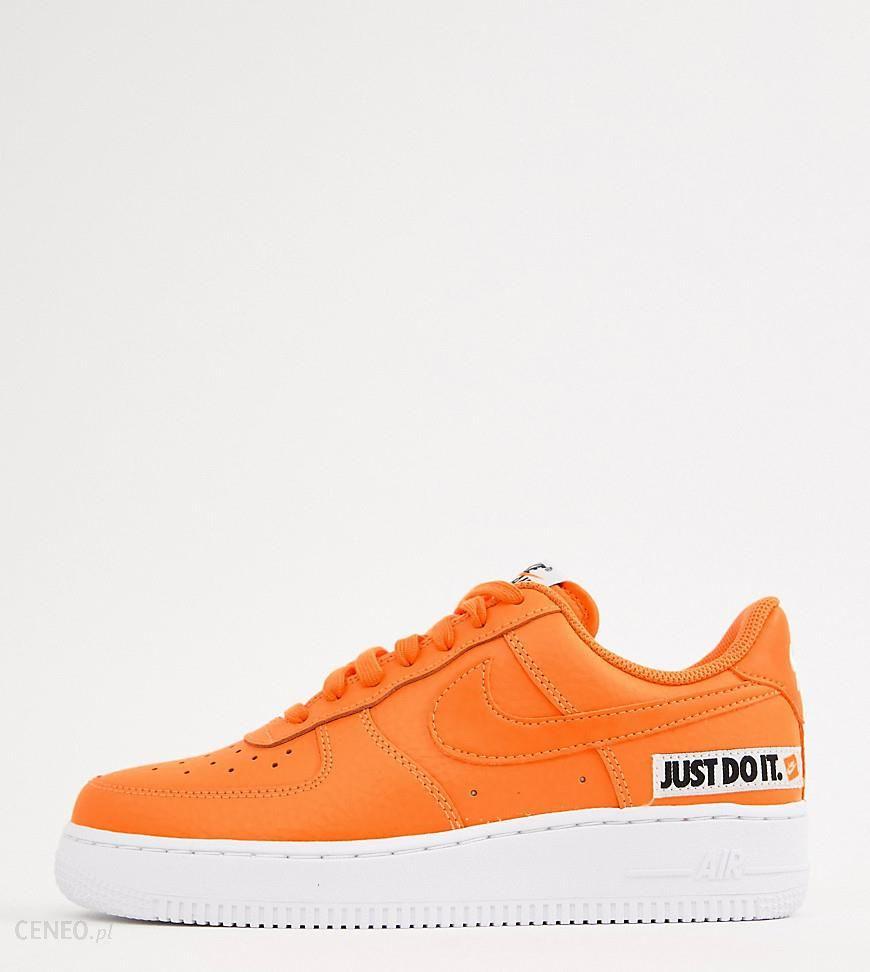 Womens Cool Grey & Vachetta Tan & White Nike Air Force 1 07