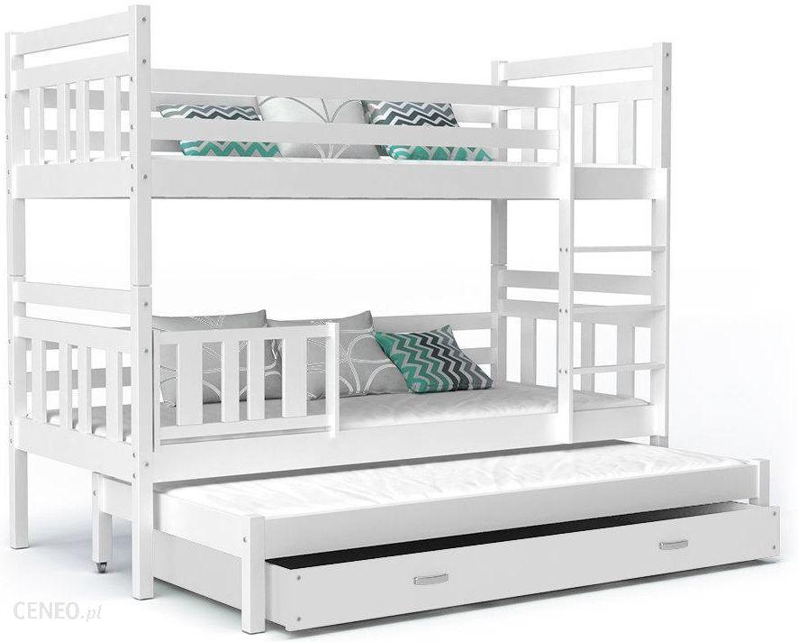 Spokojnesny łóżko Piętrowe Nemo Biały 86x191cm Ceny I Opinie Ceneopl