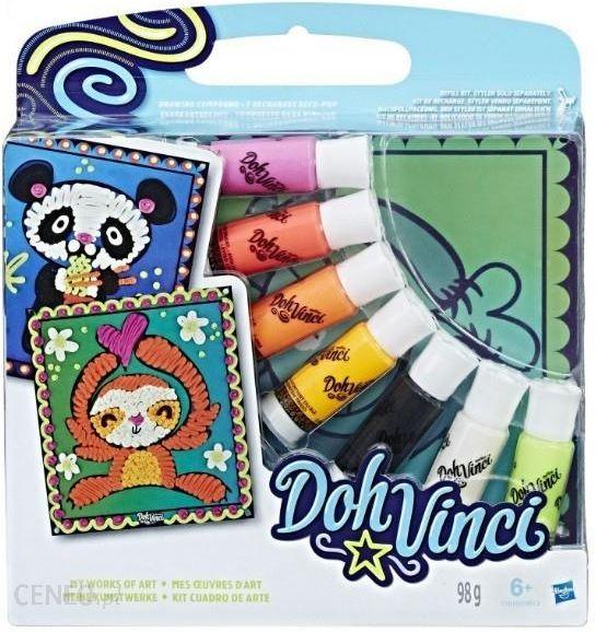 Hasbro Doh Vinci Artystyczne Tablice Zwierzeta C1615 Ceny I Opinie Ceneo Pl