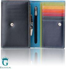 c1faf31539a82 Damski kolorowy portfel Valentini na zatrzask 123-681