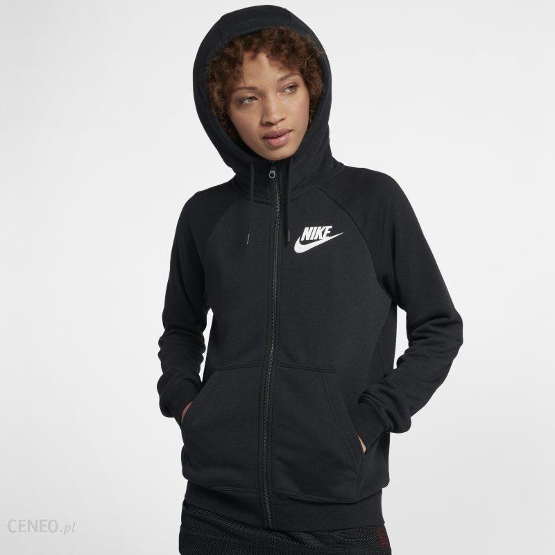 16f81296bea1f7 Damska rozpinana bluza z kapturem Nike Sportswear Rally - Czerń - zdjęcie 1
