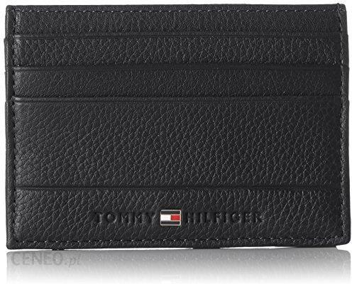 Amazon Tommy Hilfiger Męski Core Cc Holder Osłona Na Karty Tożsamości 0 5 X 7 1 X 10 Cm Czarny