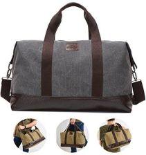 bbc23d27bf53f Amazon Overmont 36I Vintage Canvas uniseks torba podróżna gimnastyka torba  weekendowa bagaż podręczny torba sportowa na