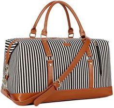 86df1be49893f Amazon BAOSHA HB-14 duże płótno torba podróżna damska torba podróżna Duffel  Bag Carry On
