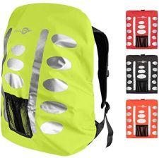 47cb70514ebcc Amazon Ochrona przed deszczem plecak Żółty (różne rozmiary) powłoka z  elementami odblaskowymi i Extra