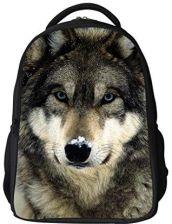 d9de84fbc6749 Amazon Plecak szkolny 3d dla dzieci Animal Print Design School Bag Laptop  Computer plecaki, kolor