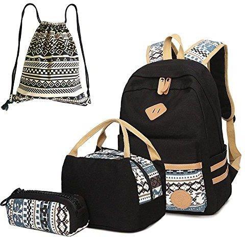 cadfacd799165 Amazon Nowe życie torby szkolne zestaw 4 plecaków szkolnych + torebka +  piórnik + worek z