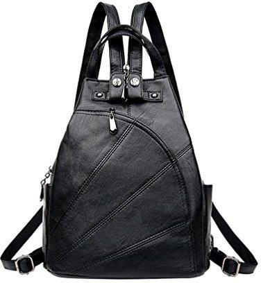96ca1008ed439 Amazon vbiger damska skóra naturalna plecak wielofunkcyjne ramię torba  podróżna okazjonalnym torebka allgleiches schulschulte torebka klasyczne