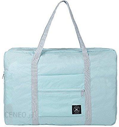 Amazon Składany Thee torba podróżna torba podróżna worek na lekkie Sport bagaż podróżny niebieski m Ceneo.pl
