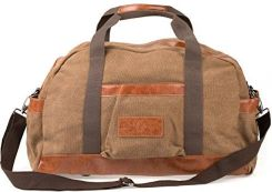 9c4344076b68b Amazon Vintage Weekender Canvas torba podróżna męska damska torba na ramię  torba sportowa Duffle Bag