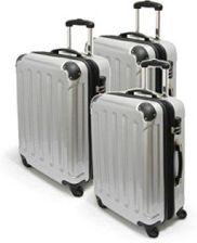 20fc20b4516dc Amazon 3-częściowy lub pojedynczy M L XL poliwęglan / ABS walizka na kółkach  zestaw twarda