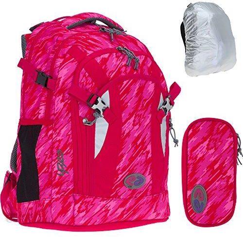 ef1146f16ec80 Amazon Zestaw 3-częściowy: YZEA by Take it Easy plecak szkolny PRO + YZEA