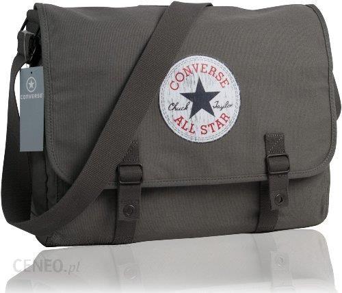 baca1dc6f68 Amazon Converse Shoulder Bag Vintage Patch Canvas, kolor  szary - zdjęcie 1