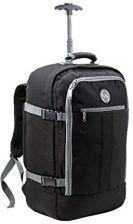 4dacff6401e4b Amazon Bagaż podręczny hybrydowy plecak 44L 55x40x20cm trolley walizka,  kolor: czarny szary