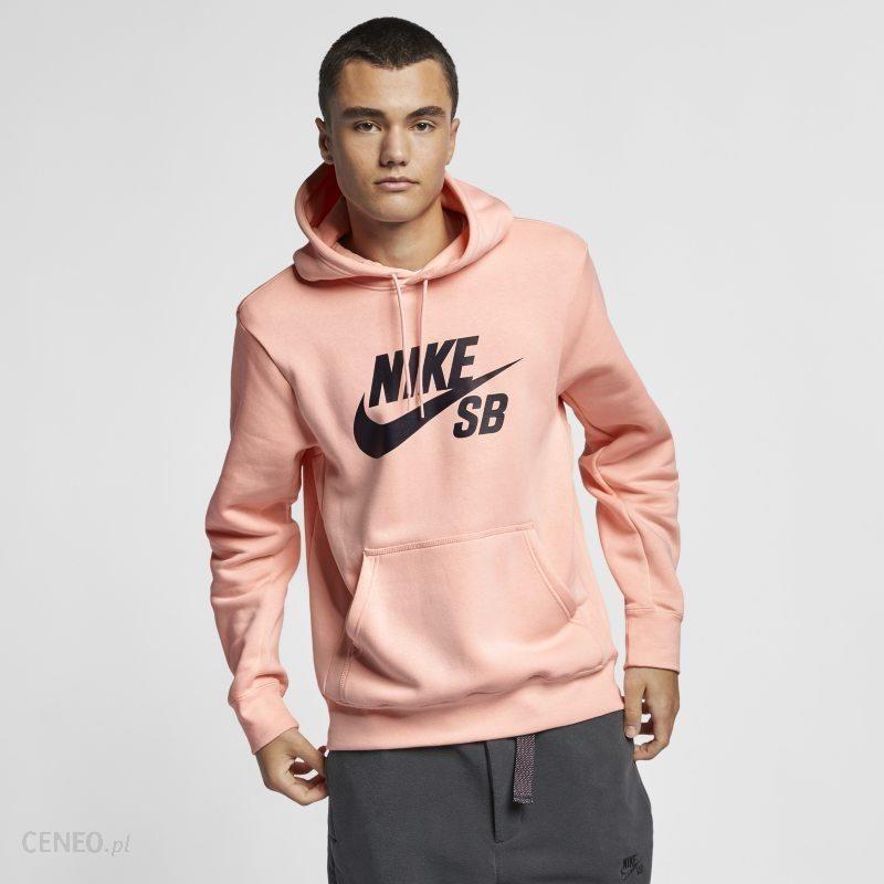Nike Dzianinowa bluza z kapturem dla chłopców Nike Sportswear Różowy Ceny i opinie Ceneo.pl