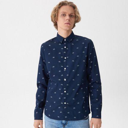 f069051de90b Reserved - Koszula z nadrukiem świątecznym - Zielony - Ceny i opinie ...